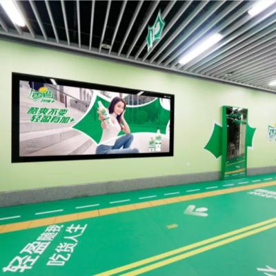 地铁灯箱广告牌,地铁口灯箱广告优势介绍