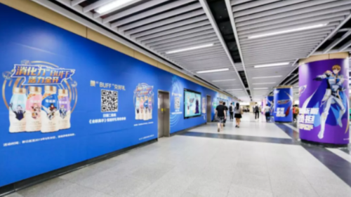 深圳地铁通道广告