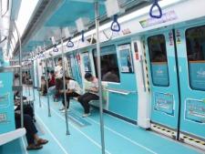 思考乐深圳地铁列车广告