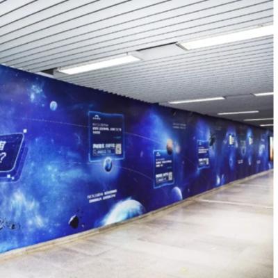 深圳地铁品牌墙广告,深圳地铁通道广告的优势分析