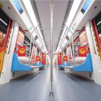 激动|深圳地铁国庆主题列车上线!峥嵘70载,与国同梦